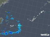 2019年04月19日の沖縄地方の雨雲の動き