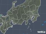 2019年04月19日の関東・甲信地方の雨雲の動き