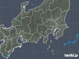 2019年04月21日の関東・甲信地方の雨雲の動き