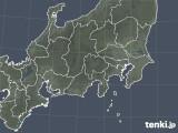 2019年04月23日の関東・甲信地方の雨雲の動き