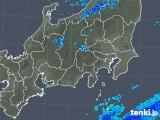 2019年04月25日の関東・甲信地方の雨雲の動き