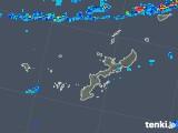 2019年04月25日の沖縄県の雨雲の動き