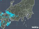 2019年04月28日の関東・甲信地方の雨雲の動き