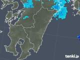 2019年04月28日の宮崎県の雨雲の動き