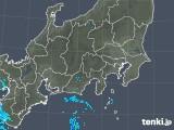 2019年04月29日の関東・甲信地方の雨雲の動き