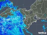 2019年04月29日の近畿地方の雨雲の動き
