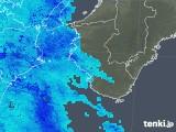 2019年04月29日の和歌山県の雨雲の動き