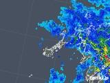 2019年04月29日の長崎県(五島列島)の雨雲の動き
