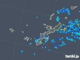 2019年04月29日の沖縄県の雨雲の動き