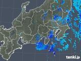 2019年04月30日の関東・甲信地方の雨雲の動き