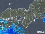 2019年04月30日の近畿地方の雨雲の動き