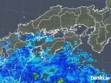 2019年04月30日の四国地方の雨雲の動き