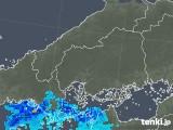 2019年04月30日の広島県の雨雲の動き