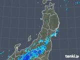 2019年05月01日の東北地方の雨雲の動き