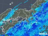 2019年05月01日の近畿地方の雨雲の動き