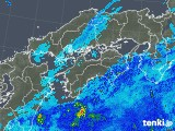 2019年05月01日の四国地方の雨雲の動き