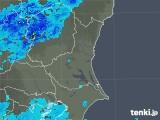 2019年05月01日の茨城県の雨雲の動き