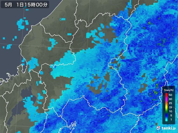 天気 レーダー 市 中津川 雨雲