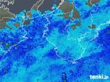 2019年05月01日の和歌山県の雨雲の動き