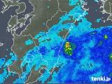 2019年05月01日の宮崎県の雨雲の動き