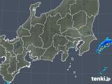 2019年05月02日の関東・甲信地方の雨雲の動き