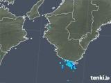 2019年05月02日の和歌山県の雨雲の動き