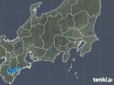2019年05月03日の関東・甲信地方の雨雲の動き