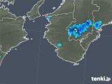 2019年05月03日の和歌山県の雨雲の動き