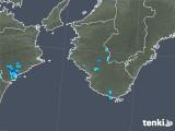 2019年05月04日の和歌山県の雨雲の動き