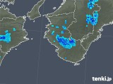 2019年05月05日の和歌山県の雨雲の動き