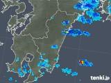 2019年05月06日の宮崎県の雨雲の動き