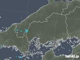 2019年05月07日の広島県の雨雲の動き