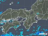 2019年05月09日の近畿地方の雨雲の動き