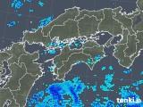 2019年05月09日の四国地方の雨雲の動き