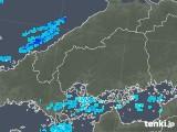 2019年05月09日の広島県の雨雲の動き