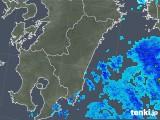 2019年05月09日の宮崎県の雨雲の動き