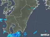 2019年05月10日の宮崎県の雨雲の動き