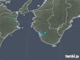 2019年05月11日の和歌山県の雨雲の動き