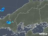 2019年05月12日の広島県の雨雲の動き