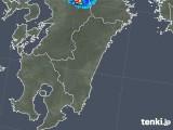 2019年05月12日の宮崎県の雨雲の動き