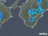 2019年05月13日の和歌山県の雨雲の動き