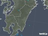 2019年05月13日の宮崎県の雨雲の動き
