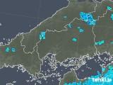 2019年05月14日の広島県の雨雲の動き