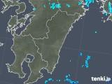 2019年05月14日の宮崎県の雨雲の動き
