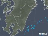2019年05月15日の宮崎県の雨雲の動き