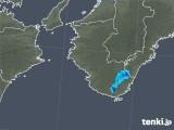 2019年05月17日の和歌山県の雨雲の動き
