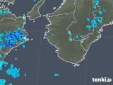 2019年05月18日の和歌山県の雨雲の動き