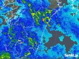 2019年05月18日の宮崎県の雨雲の動き