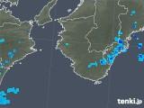 2019年05月19日の和歌山県の雨雲の動き