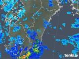 2019年05月19日の宮崎県の雨雲の動き